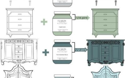 FUSION MINERAL PAINT! Click here to see more!