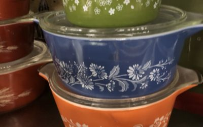 PYREX. THE COLLECTORS DREAM BOOTH! Click here to see even more!